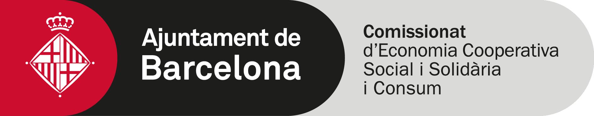 Logo Comissionat Economia Cooperativa Social i Solidaria i Consum de l'Ajuntament de Bcn