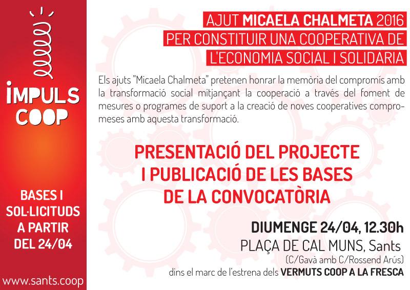 Bases de l'ajut Micaela Chalmeta