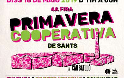 4a #PrimaveraCooperativa2019 ? de Sants: Cultura, cooperativisme i comunitat